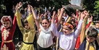 Армянские танцы в Батуми: как прошел концерт детских ансамблей из Армении