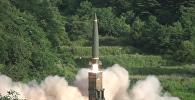 Совместные ракетные учения США и Южной Кореи