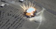 Крылатые ракеты ВКС уничтожили склады ИГ* в Сирии