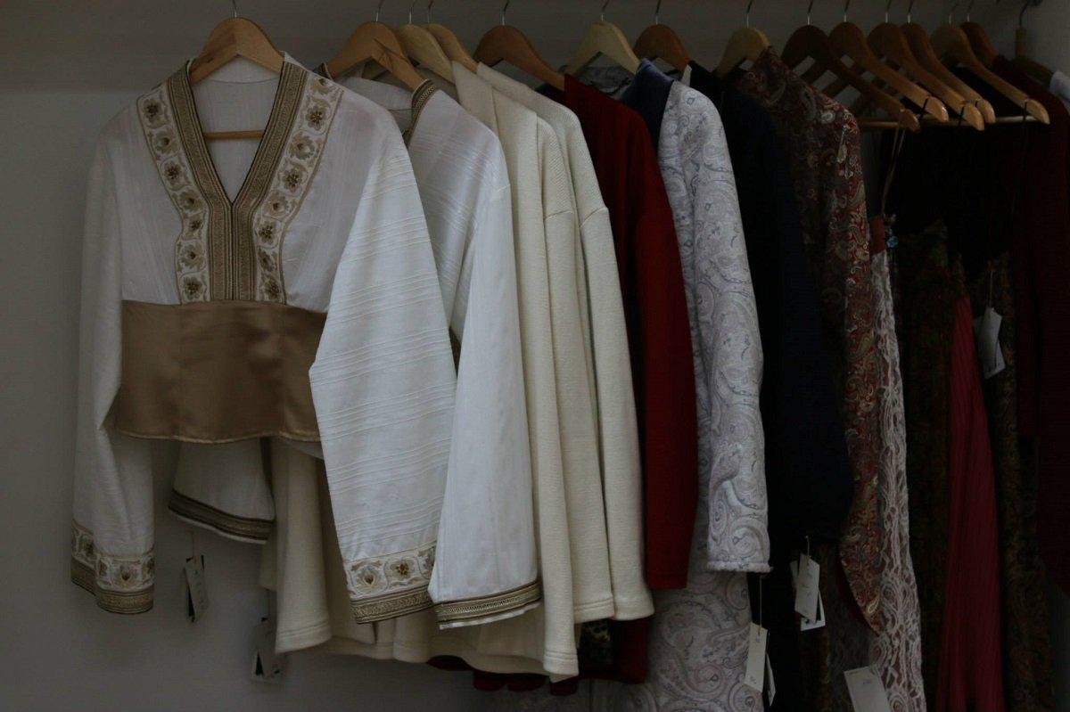 Одежда в грузинском традиционном стиле, созданная Самосели пирвели