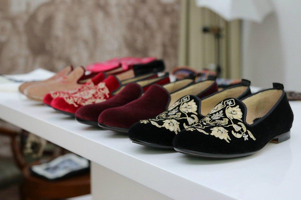 Обувь в грузинском традиционном стиле