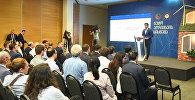 Каха Каладзе на презентации проекта  Регулирование нетто-учета в Грузии