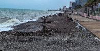 В разгар туристического сезона на Батуми обрушился шторм