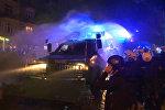 Ночные столкновения полицейских с протестующими в Гамбурге