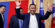 Избранный президент Монголии Халтмаагийн Баттулга