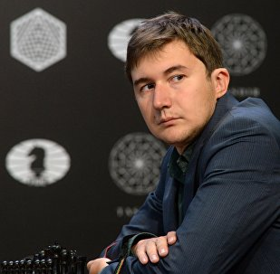 Гроссмейстер Сергей Карякин (Россия)