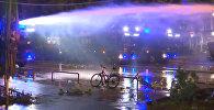 Водометы против демонстрантов: как разгоняли протестующих в Гамбурге