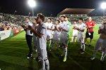 Сборная Грузии по футболу U-19 благодарит болельщиков