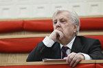 Ректор Российской академии живописи, ваяния и зодчества Илья Глазунов