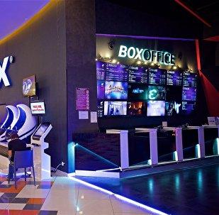 Вход в один из кинотеатров IMAX в одном из тбилисских торговых центров