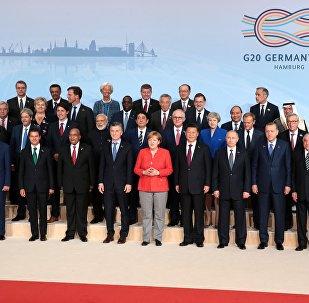 G20-ის მონაწილე სახელმწიფო მეთაურთა ერთობლივი ფოტო