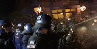 Третья ночь беспорядков в Гамбурге
