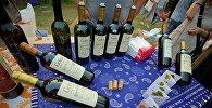 Грузинские вина на винном фестивале