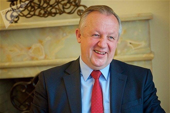 Посол Беларуси в Грузии Михаил Мятликов