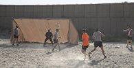 Грузинские военные сыграли в футбол в Афганистане