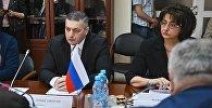 Встречи грузинских депутатов в Госдуме РФ
