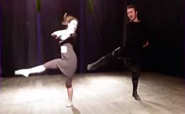 Танцоры Сухишвили исполнили танец под народную украинскую песню