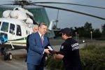 Премьер Грузии Георгий Квирикашвили наградил сотрудников Погранполиции и спасателей