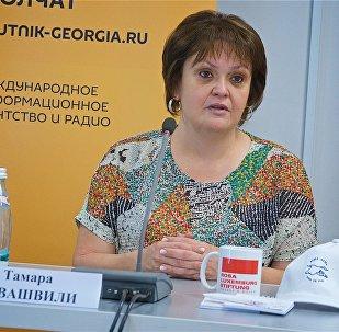 Тамара Иовашвили. Брифинг по проблеме прав бездомных
