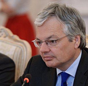 Министр иностранных дел Бельгии, председатель Комитета министров Совета Европы Дидье Рейндерс