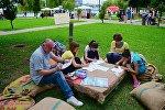 Творческий мастер-класс для детей и взрослых в Парке 26 мая. Экологический арт-фестиваль Аргани
