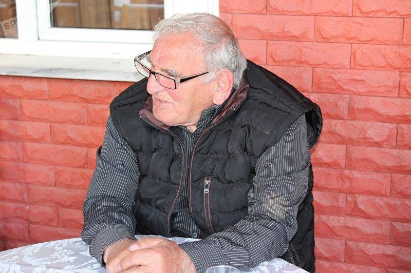 Грузинский прозаик, поэт Давид Аскурава