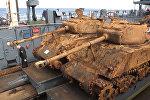 Американские танки времен Второй мировой подняли со дна Баренцева моря