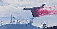 Пожары в Калифорнии охватили почти 40 гектаров. Власти штата привлекали для борьбы со стихией пожарные самолеты и вертолеты, которые выливали на очаги горения тонны воды