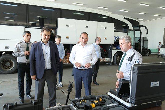 Министр финансов Грузии Дмитрий Кумсишвили посетил ТПП Сарпи