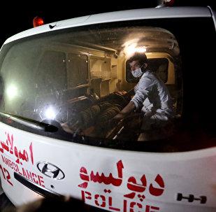 Скорая помощь в Афганистане. Архивное фото