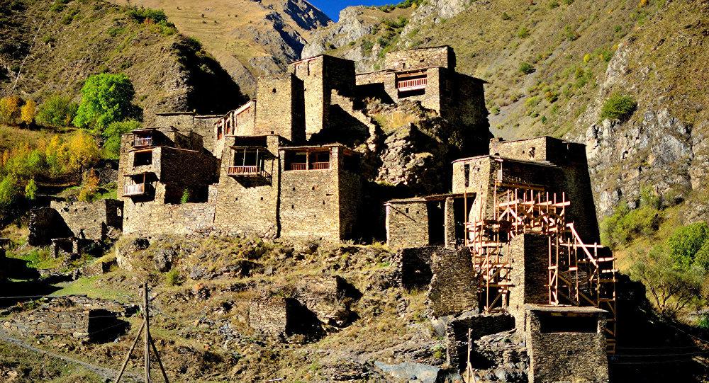 Высокогорное село Шатили