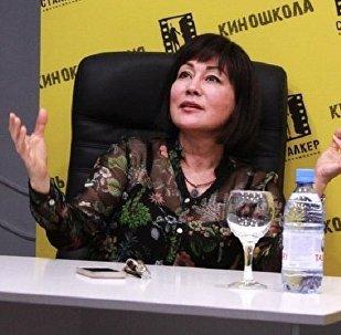 Заслуженная артистка Казахстана Жанна Куанышева