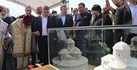 Церемония начала строительства нового монастырского комплекса