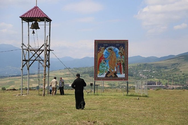 Место, где будет построен новый монастырский комплекс