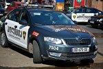 Полицейские машины на месте ЧП