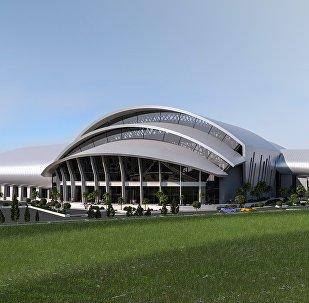 Проект нового спортивного комплекса в Батуми