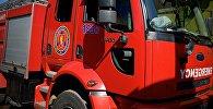 Пожарная машина службы 112