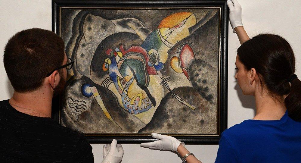 ვასილი კანდინდკის ნახატი