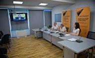 Видеомост Тбилиси-Москва по вопросу визита грузинских депутатов в Россию