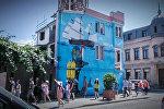 Здания в Батуми превратили в произведения искусства