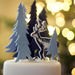 Рождественский торт в одном из магазинов Парижа