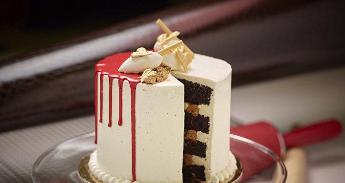 Шоколадный торт в Гайд-парке, США