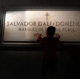 Могила Сальвадора Дали