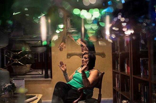 Мария Пилар Абель, которая утверждает, что является дочкой испанского художника Сальвадора Дали