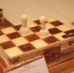 ჭადრაკის ფორმის ტორტი