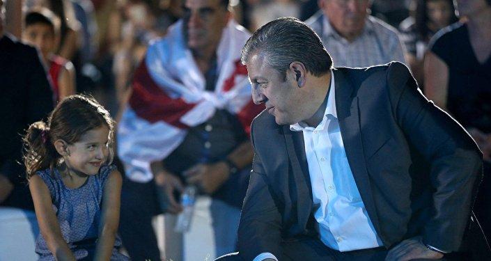 Премьер-министр Грузии Георгий Квирикашвили