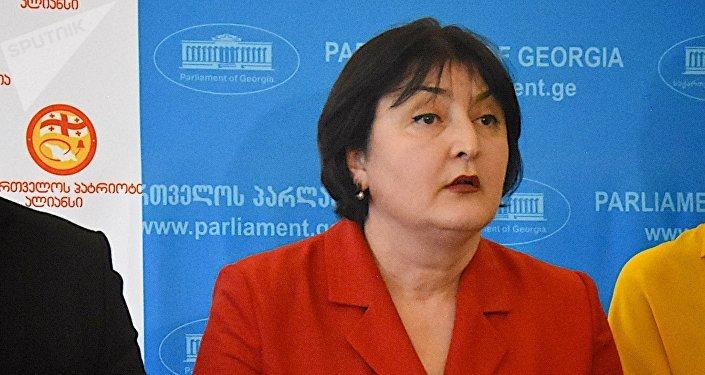 Депутат парламента от фракции Альянс патриотов Грузии Ада Маршания