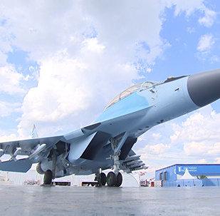 Маневры многоцелевого МиГ-35