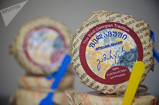 Пеламуши грузинского производства в товарной упаковке