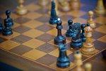 Шахматная доска в тбилисском Дворце шахмат